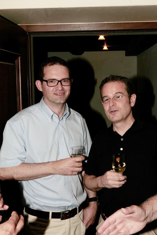 Robert Bachmann und Martin Hubatka.