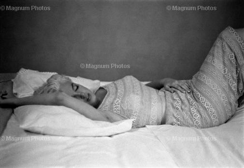 Marlin Monroe 1955.