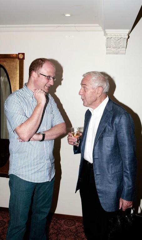Dominik Buholzer im Gespräch mit Peter Studer.