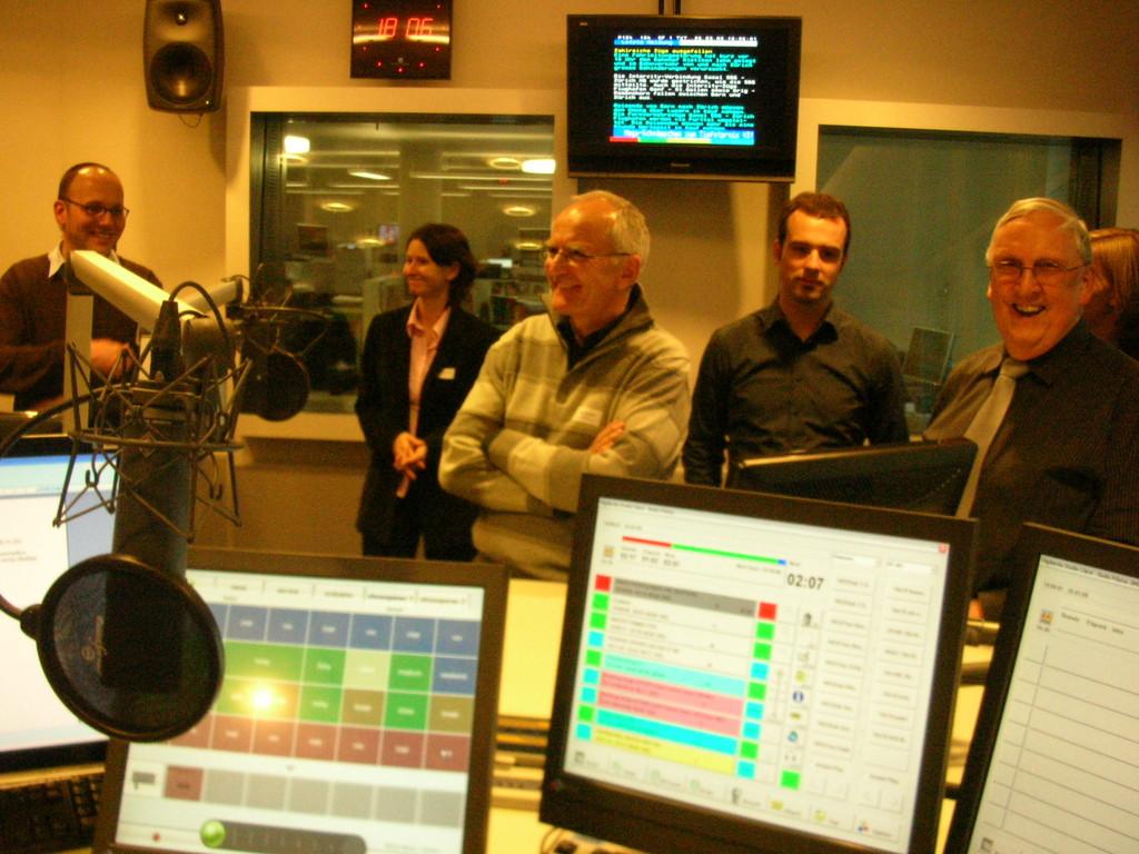 Radio Pilatus verfügt über das modernste Studio in Europa.
