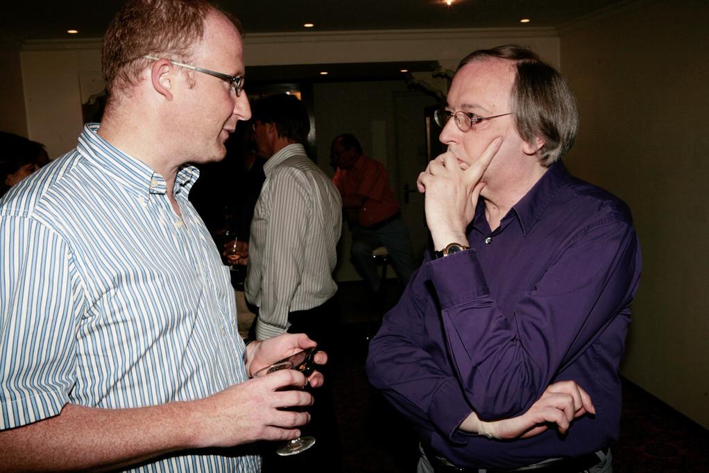 Dominik Buholzer und Stefan Degen.