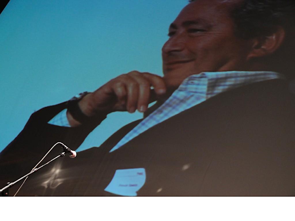 Er durfte natürlich nicht fehlen: Der ägyptische Investor Samih  Sawiris.