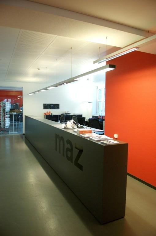 Immer mehr Studenten, immer weniger Platz: 2005 zügelte das MAZ an die Murbacherstrasse mitten in Luzern.