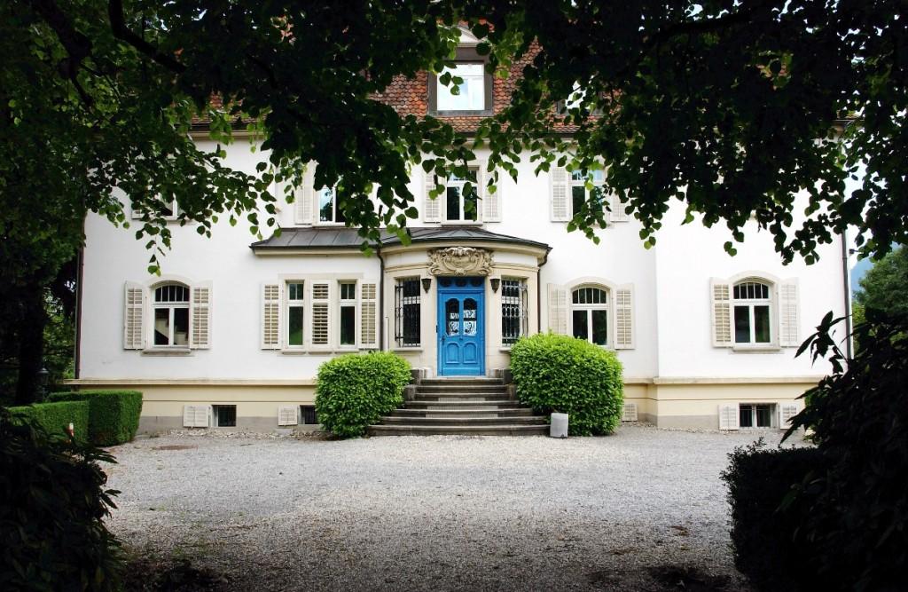 Hier begann alles: Am 17. September 1984 startete in der Villa Krämerstein in Kastanienbaum der erste MAZ-Grundkurs für 27 junge Journalisten.