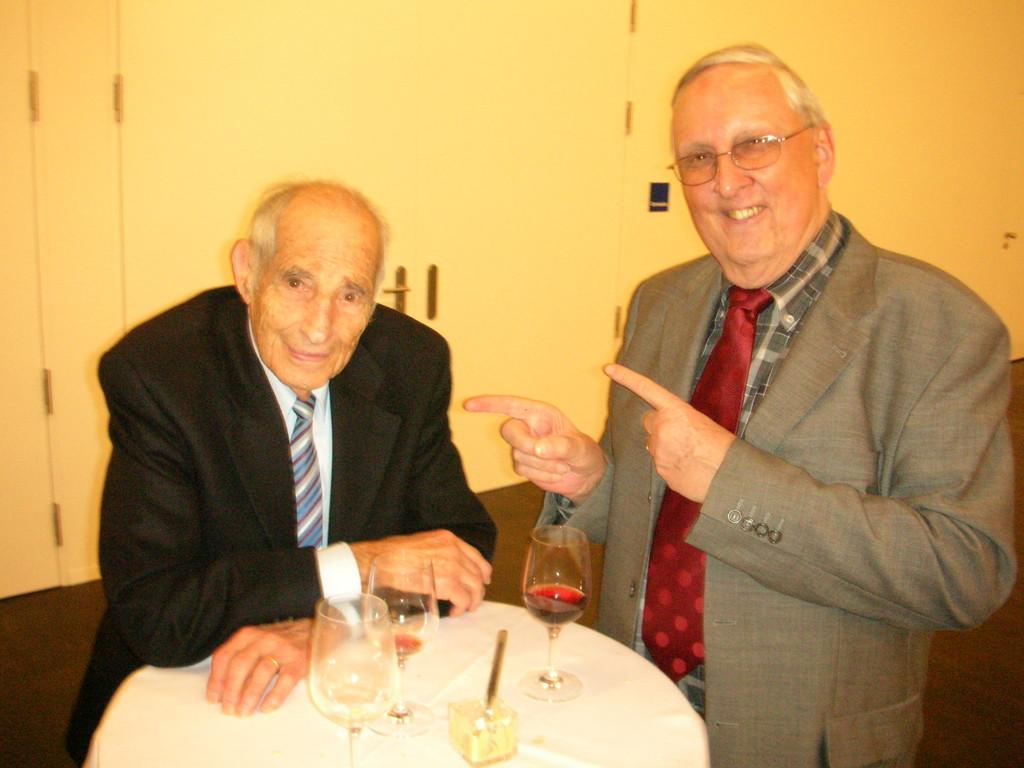 Alfred Waldis und Seppi Ritler.