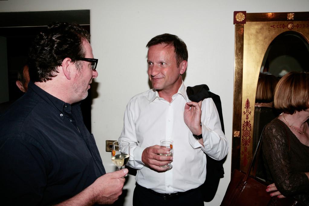 Jean-Pierre Ritler im Gespräch mit Marco Castellaneta.