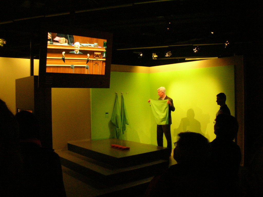 In der Media-Factory können die Besucher die Tricks des Fernsehens kennen lernen.