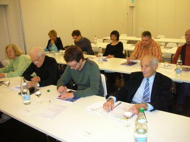 Blick in die Teilnehmerrunde der GV.