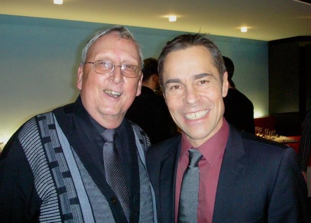 """Zwei """"alte Hasen"""": Josef Ritler (links) zusammen mit Matthias Hüppi."""