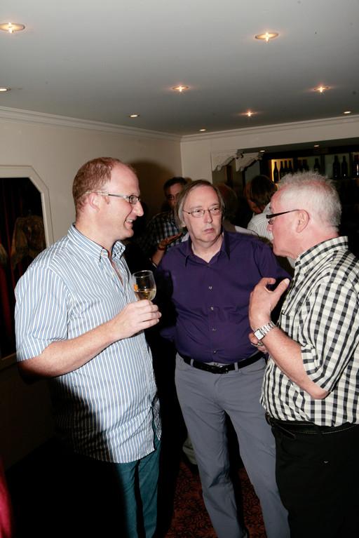 Dominik Buholzer, Stefan Degen und Josias Clavadetscher.