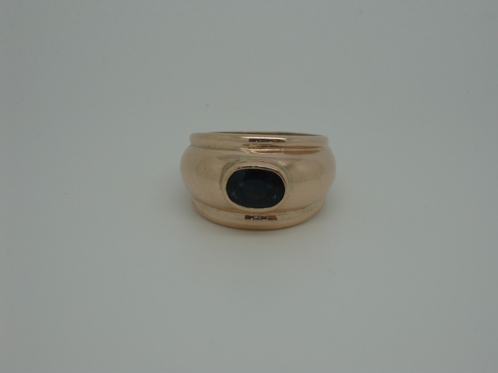"""Sandy"" - 9ct Pink Gold + Sapphire - SOLD"