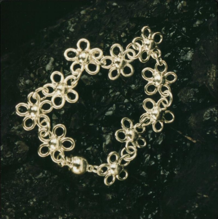 """Daisy"" Sterling Bracelet - SOLD"