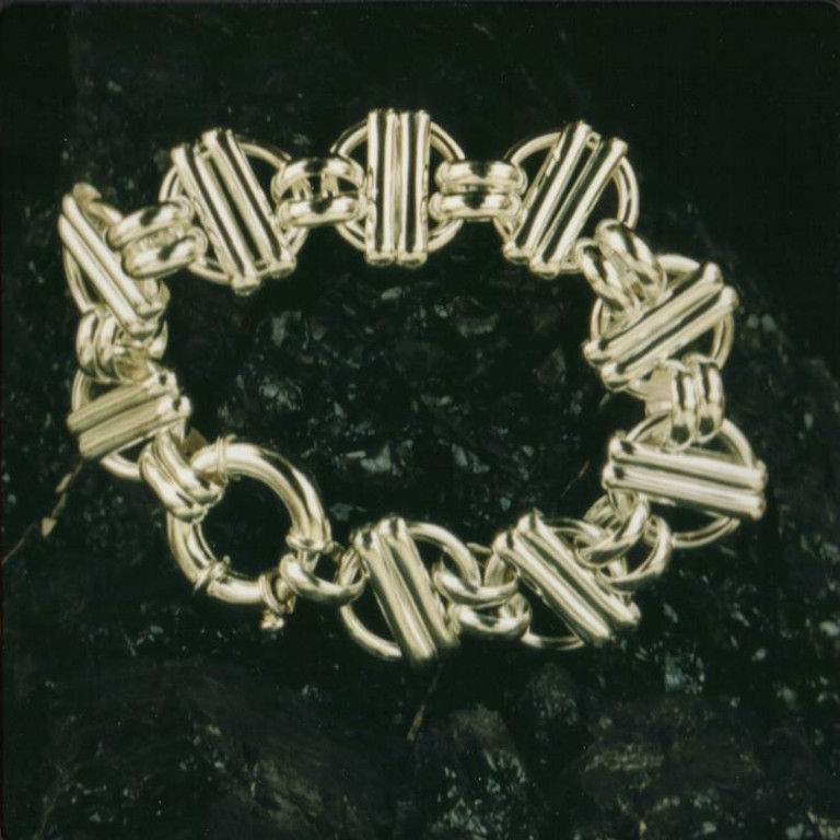 """Madness"" Sterling Bracelet - SOLD"