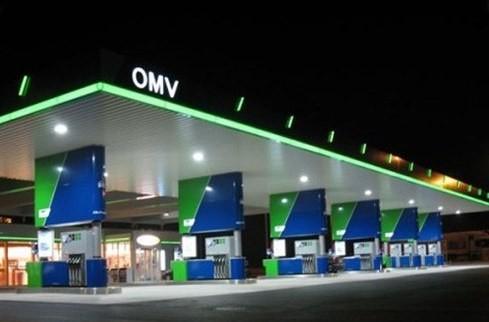 LED-AK Strahler Tankstelle