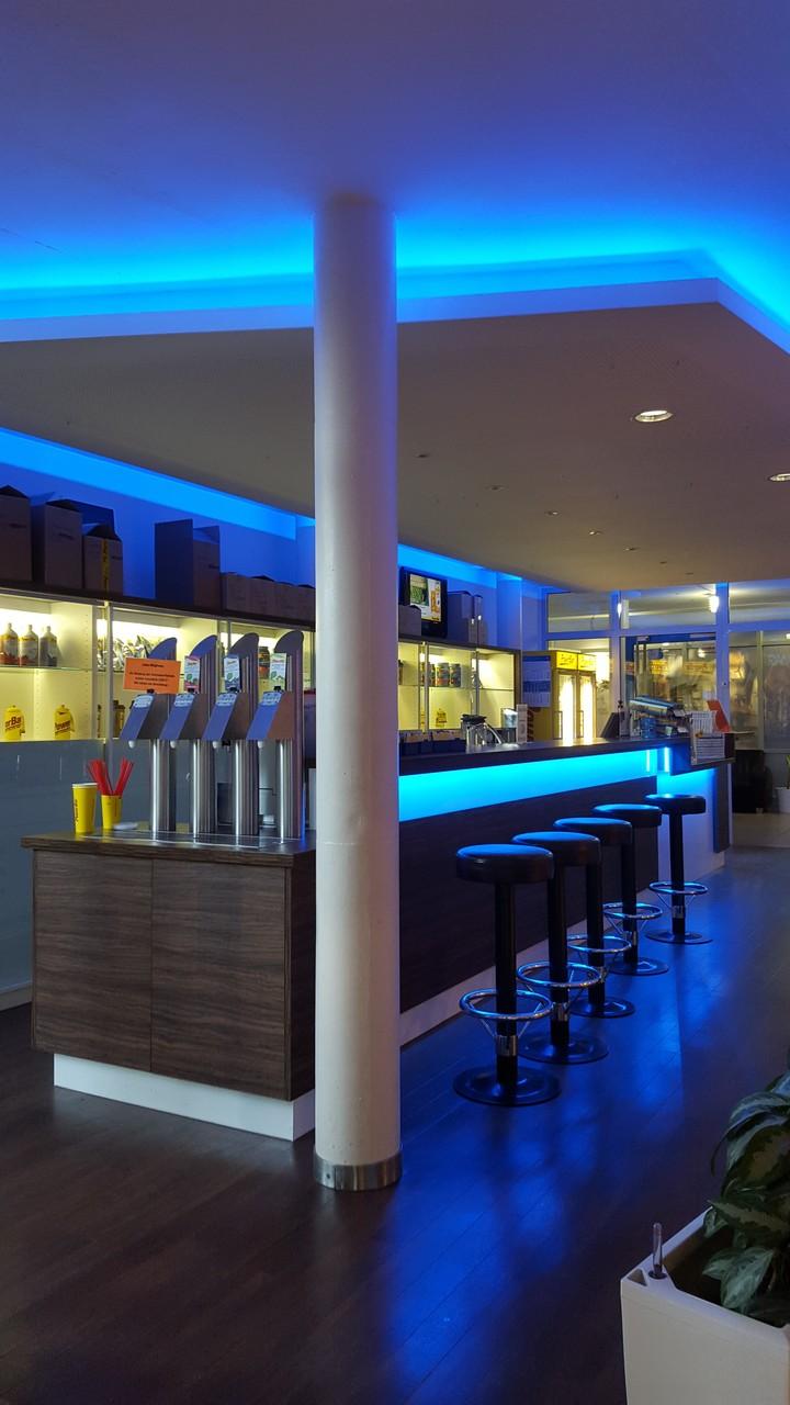 LED Lichtband + Steuerung Sportcenter