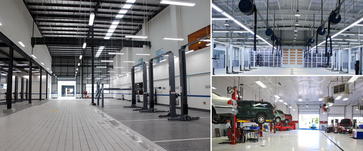 LED T8 und T10 Werkstätten
