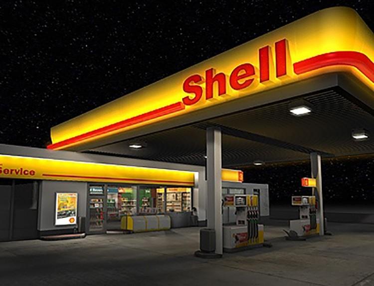 LED-TST Strahler Tankstelle