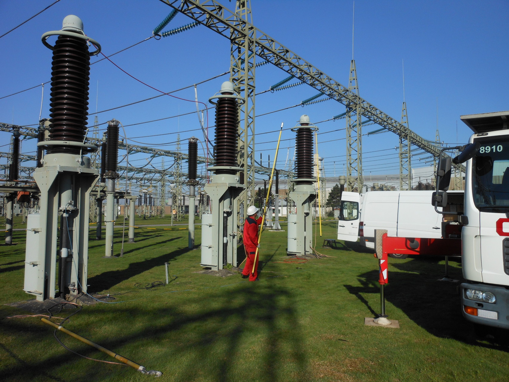 Alterungsdiagnose am 220 kV-Ölkabel (ca. 850 m) von 1961