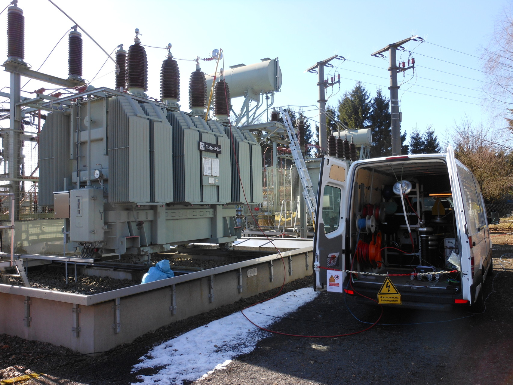 Alterungsdiagnose am 110 kV-Netztransformator (20 MVA) von 1969