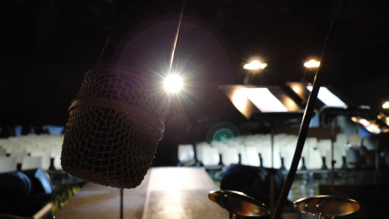 Bühnenkamera bei Konzertfilm