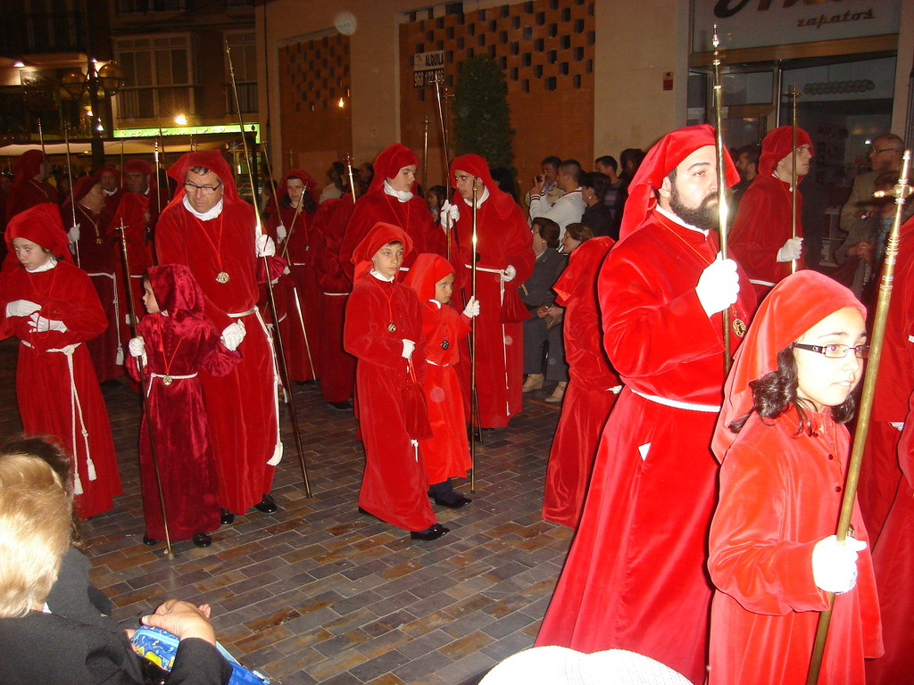A group of penitents