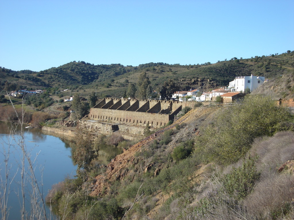 The former port of La Laja