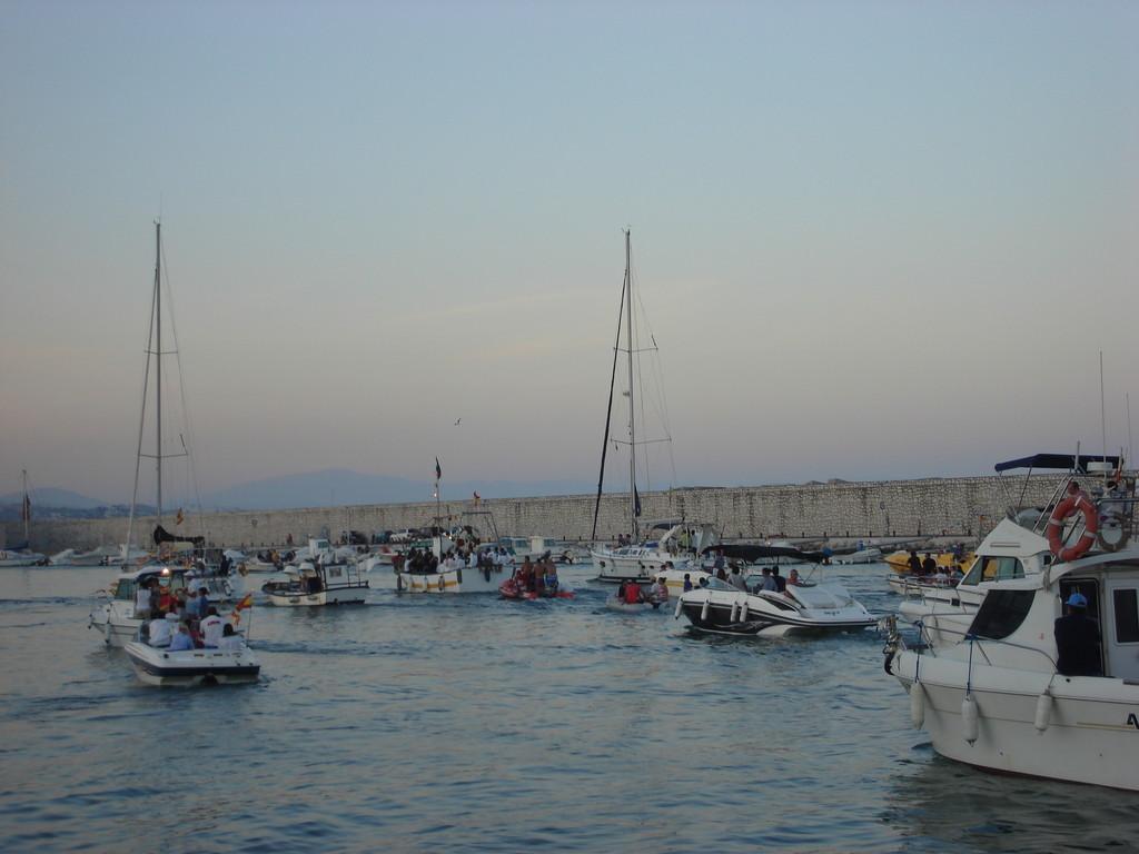 Many to accompany Carmen out to sea