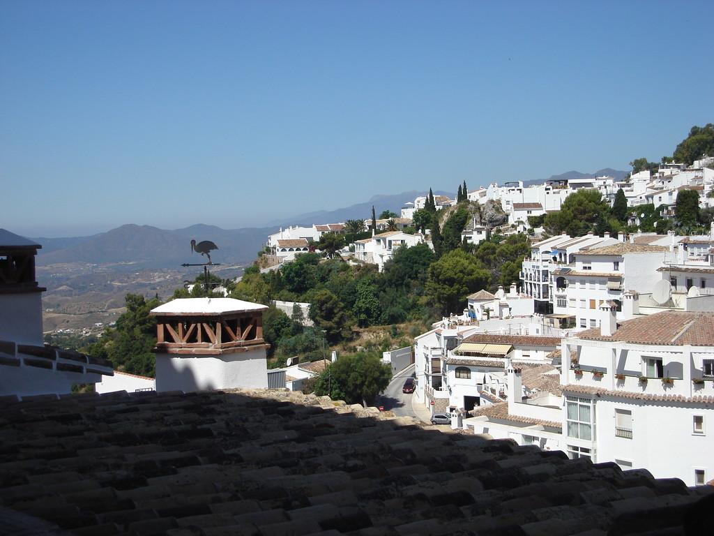 View across Mijas
