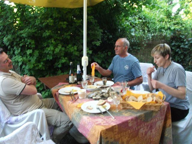 Herrlicher Abend in la Marouzière