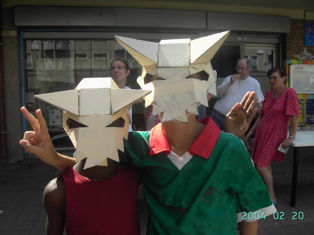 Atelier de fabrication des masques