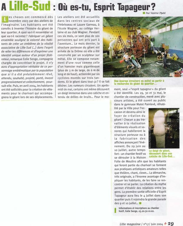 Juin 2004 - Lille magazine
