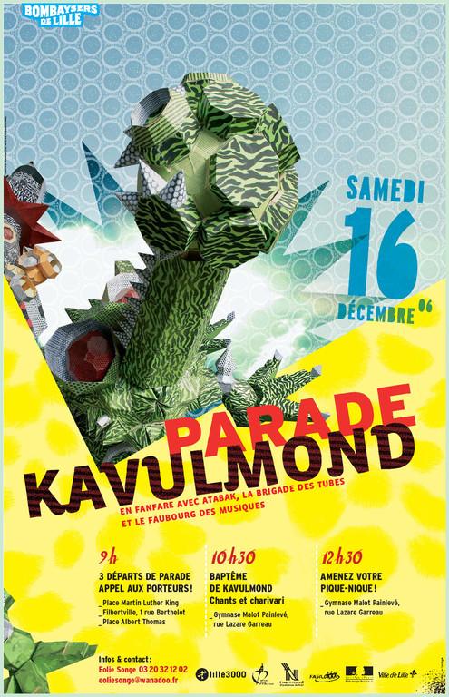L'affiche du baptême de Kavulmond
