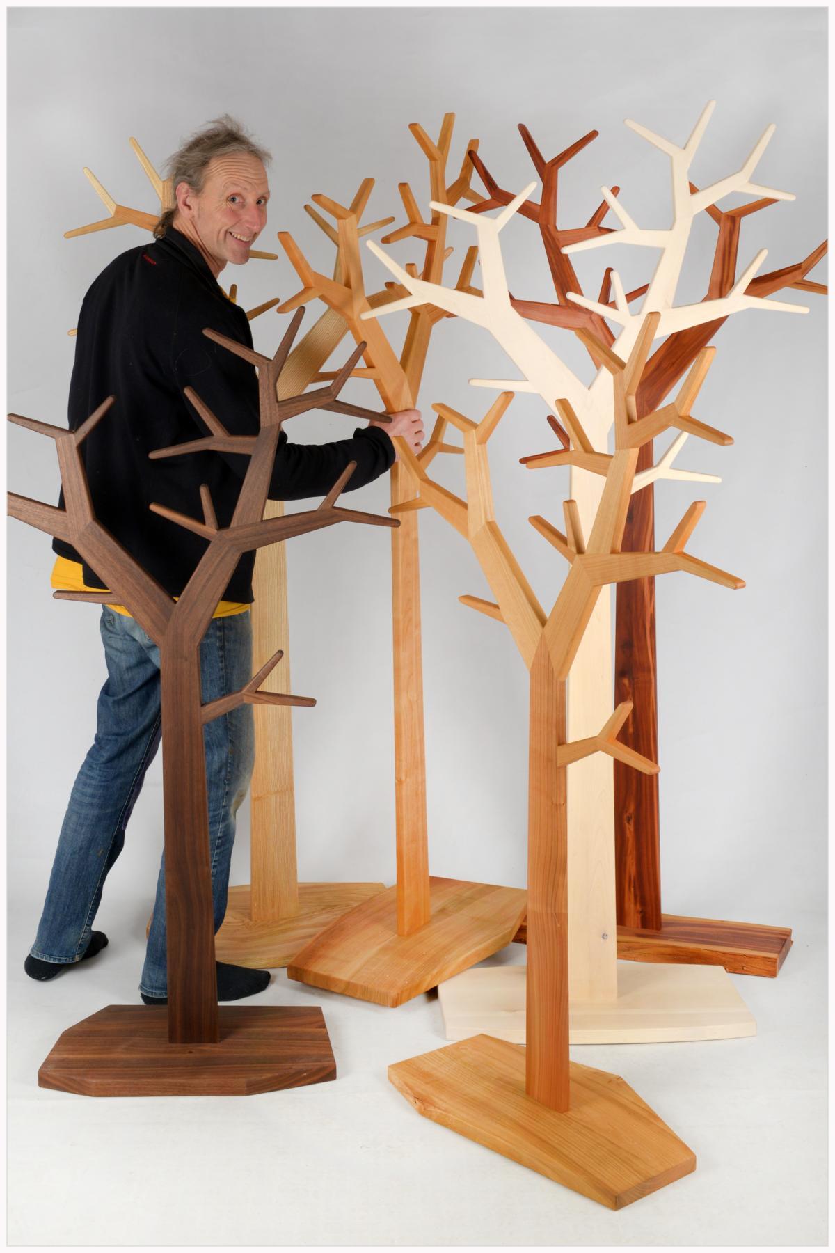 Der Wald mit Designer Wabo
