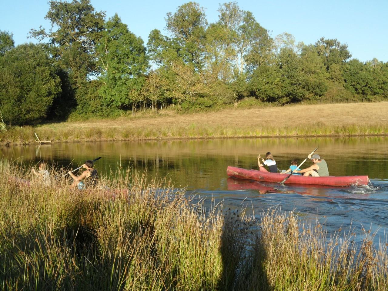 Domaine de La Garneraie un étang