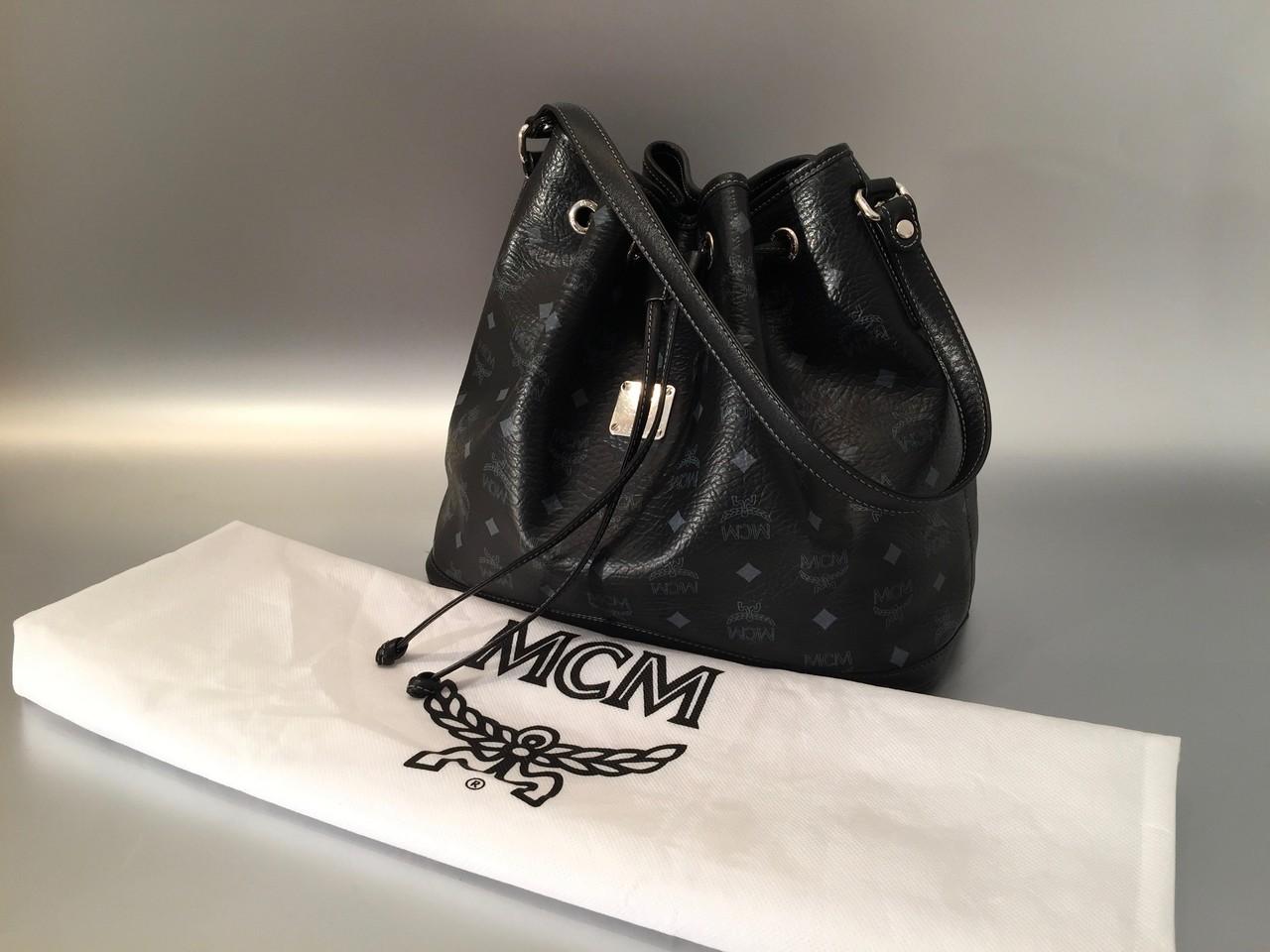 mcm beutel in schwarz ankauf verkauf second hand designertaschen und accessoires. Black Bedroom Furniture Sets. Home Design Ideas