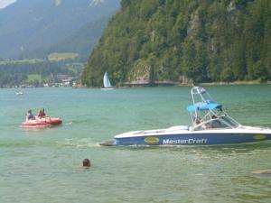 Spaß am Hallstätter See