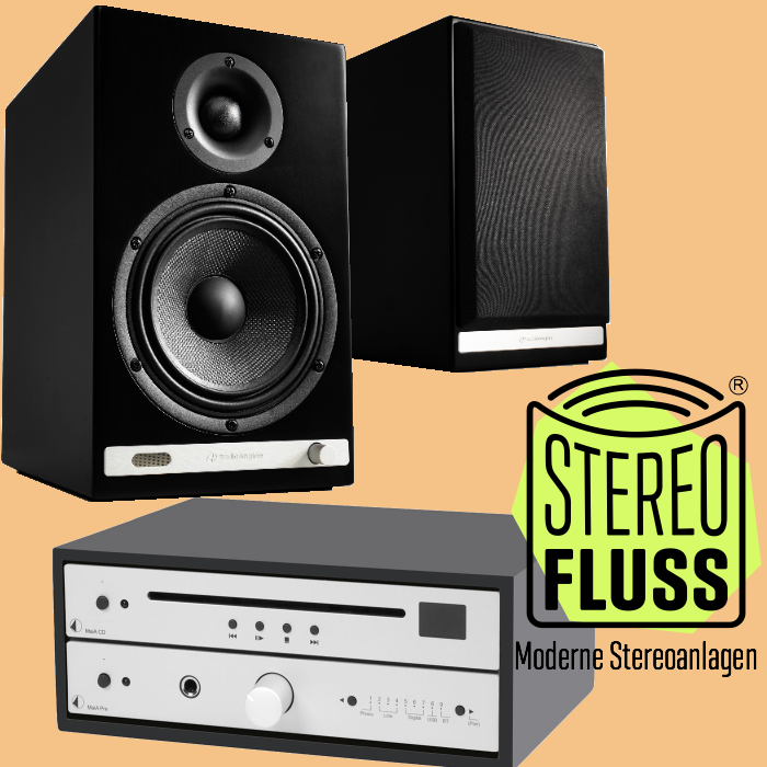 Audioengine HD6 mit ProJect MaiA Pre und MaiA CD