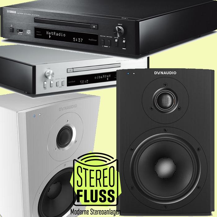 Dynaudio Xeo 2 Aktivlautsprecher mit Yamaha CD-N670 CD Spieler / Streaminggerät