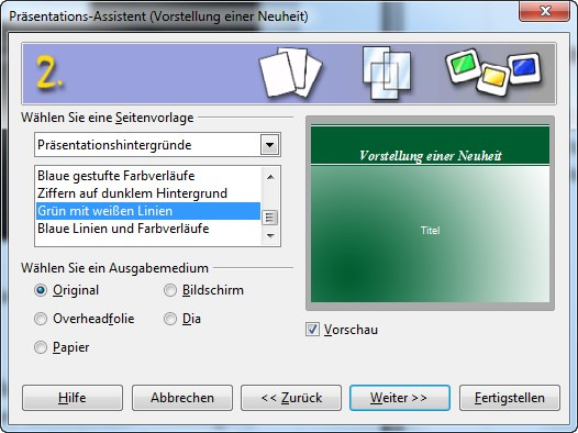 Open Office Impress, PowerPoint alternative, kostenlos, Gratis Software für Videos