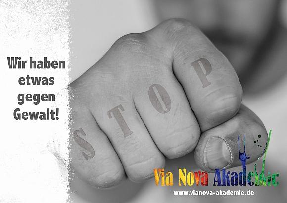 Via Nova Akademie, Via Nova Itzehoe, AGT Wir haben etwas gegen Gewalt, Anti Gewalt Trainer ausbildung, Via Nova