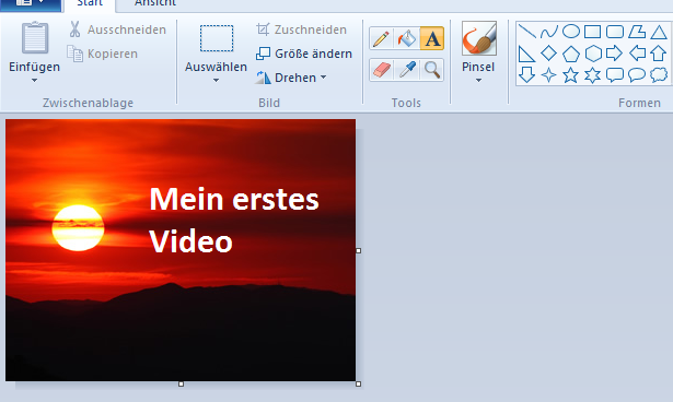 Windows Movie Maker, Video erstellen, eigenes Video, YouTube Video