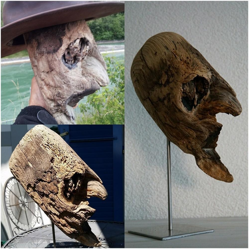 Holzkopf-vorher-nachher