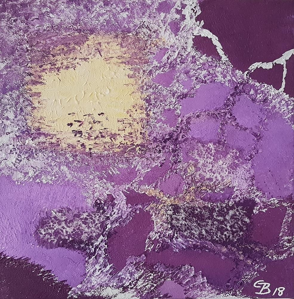 Leinwandbild 30 x 30 x 4.5 cm