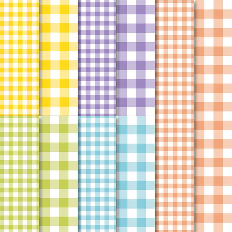 """Du erhältst 10 Blatt: je 2 Blatt pro Farbe in 6""""x6"""" (15,2 x 15,2 cm) im Wert von 3,31€"""