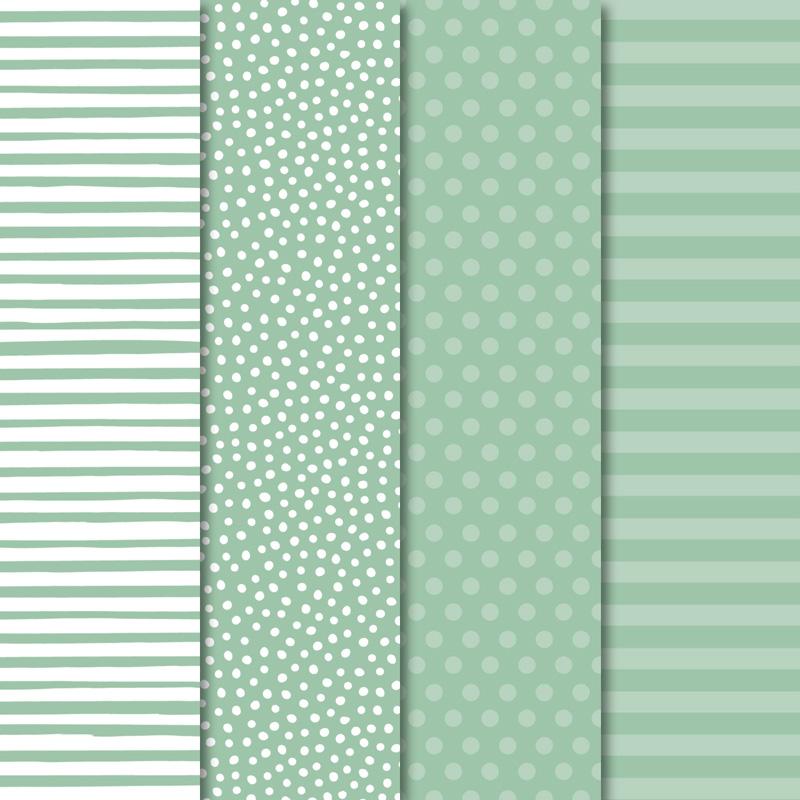 """Designerpapier Pastellfarben: Du erhältst 20 Blatt je 2 pro Farbe in 6"""" x 6"""" (15,2 x 15,2 cm) im Wert von 6,62€"""