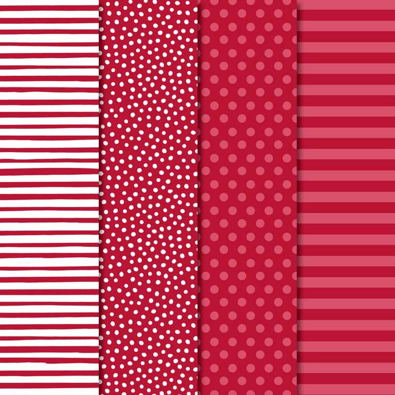 """Designerpapier Prachtfarben: Du erhältst 20 Blatt je 2 pro Farbe in 6"""" x 6"""" (15,2 x 15,2 cm) im Wert von 6,62€"""