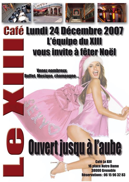 Noël, XIII Café
