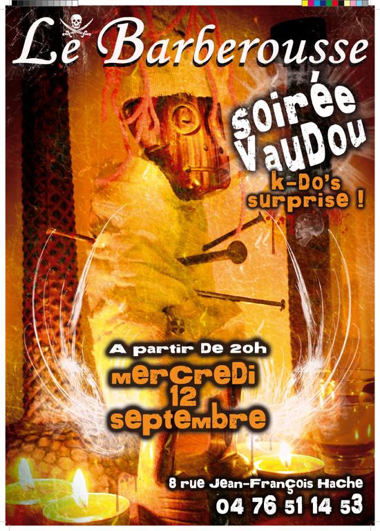 Soirée Vaudoo au Barberousse Grenoble