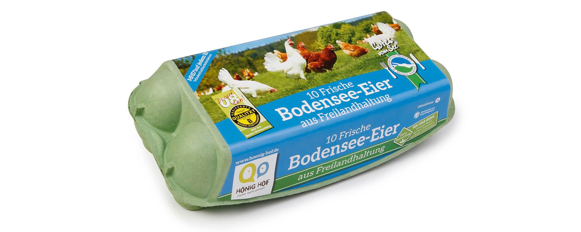 10er Bodensee-Eier aus Freilandhaltung