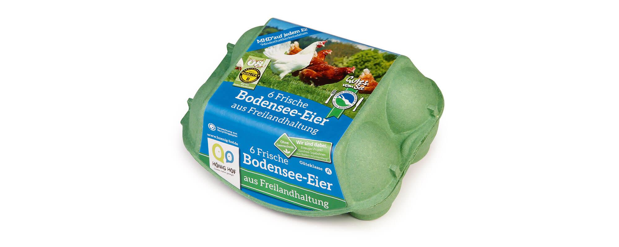 6er Bodensee-Eier aus Freilandhaltung
